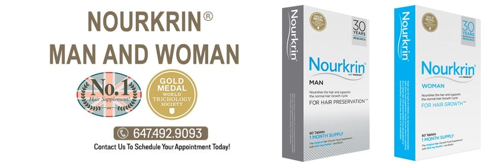 NOURKRIN® WOMAN, FOR FEMALE HAIR LOSS